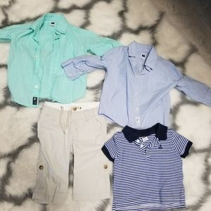 Janie and jack summer dress clothes. boys 6-12m
